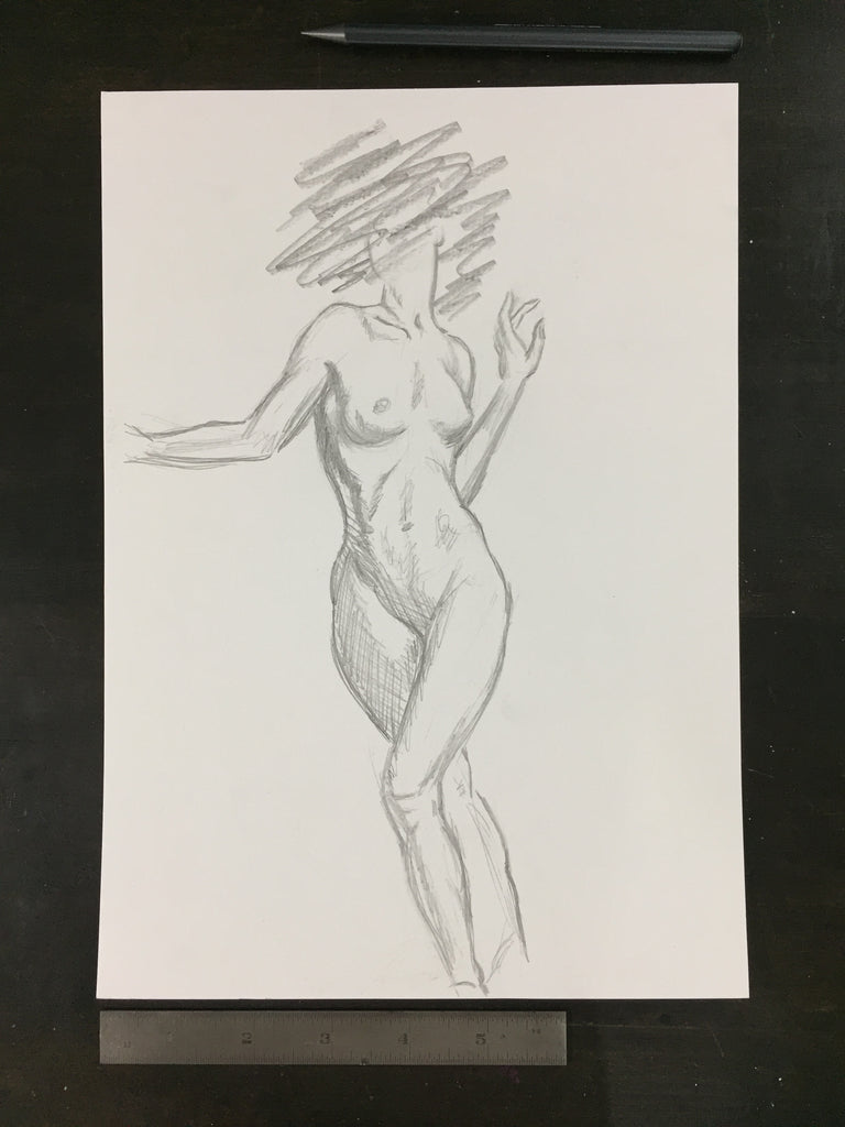 Original drawing #019 - Figure