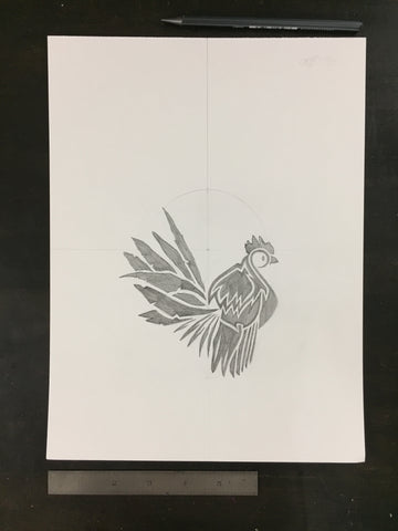 Original drawing #025 - Chicken