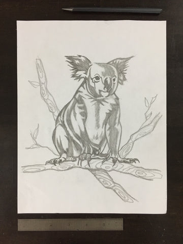 Original drawing #036 - Koala