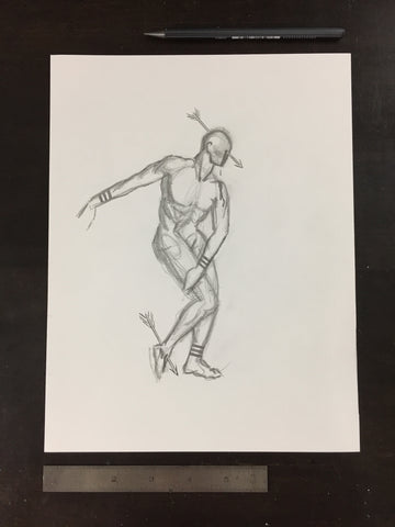 Original drawing #065 - Figure