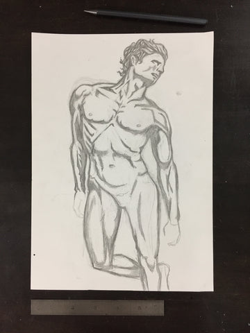 Original drawing #066 - Figure