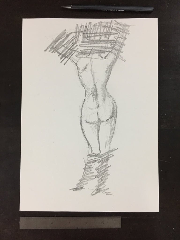 Original drawing #070 - Figure Study