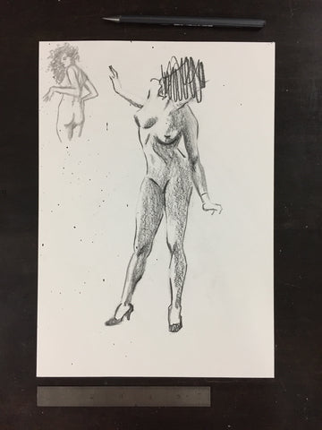 Original drawing #075 - Figure Studies