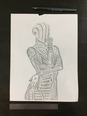 Original drawing #103 - Figure