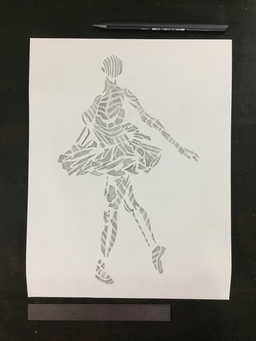 Original drawing #106 - Ballerina