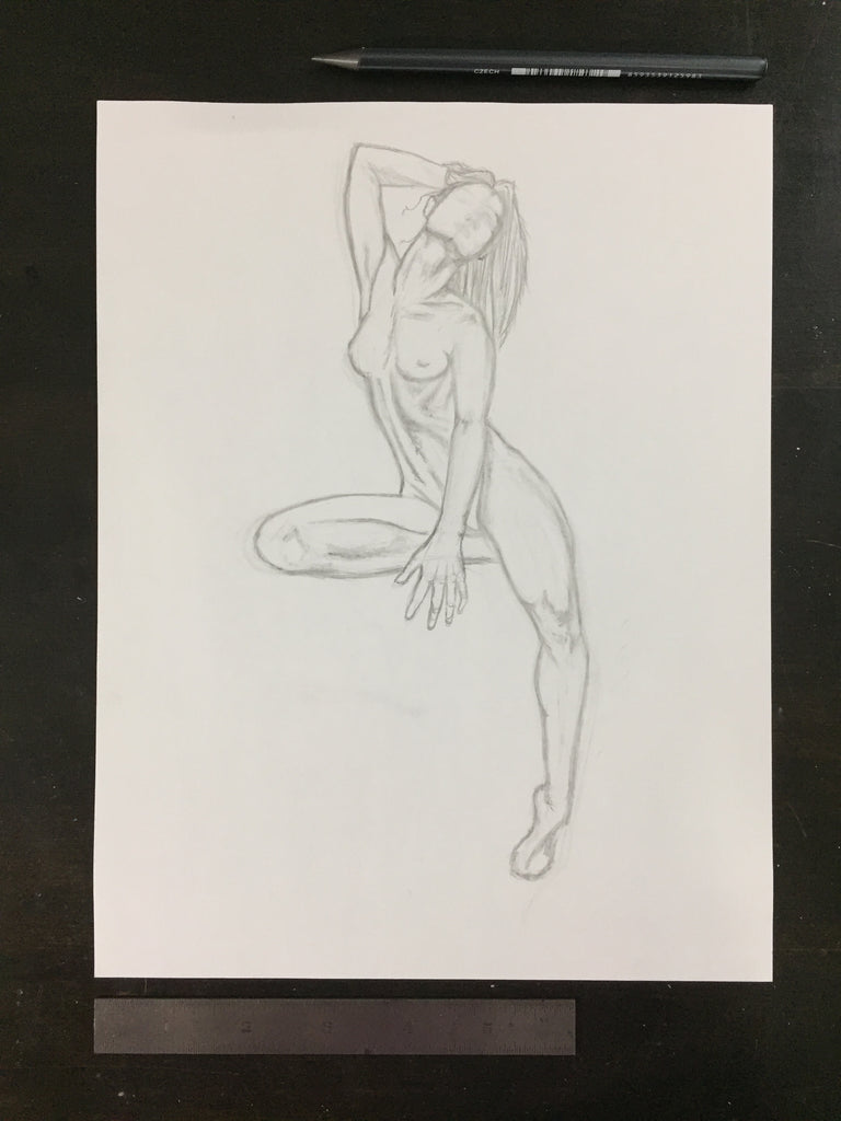 Original drawing #107 - Perfect Deconstruction Figure 1