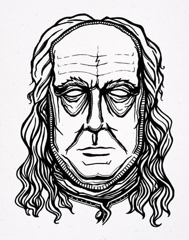 Ben Franklin - Signed Print