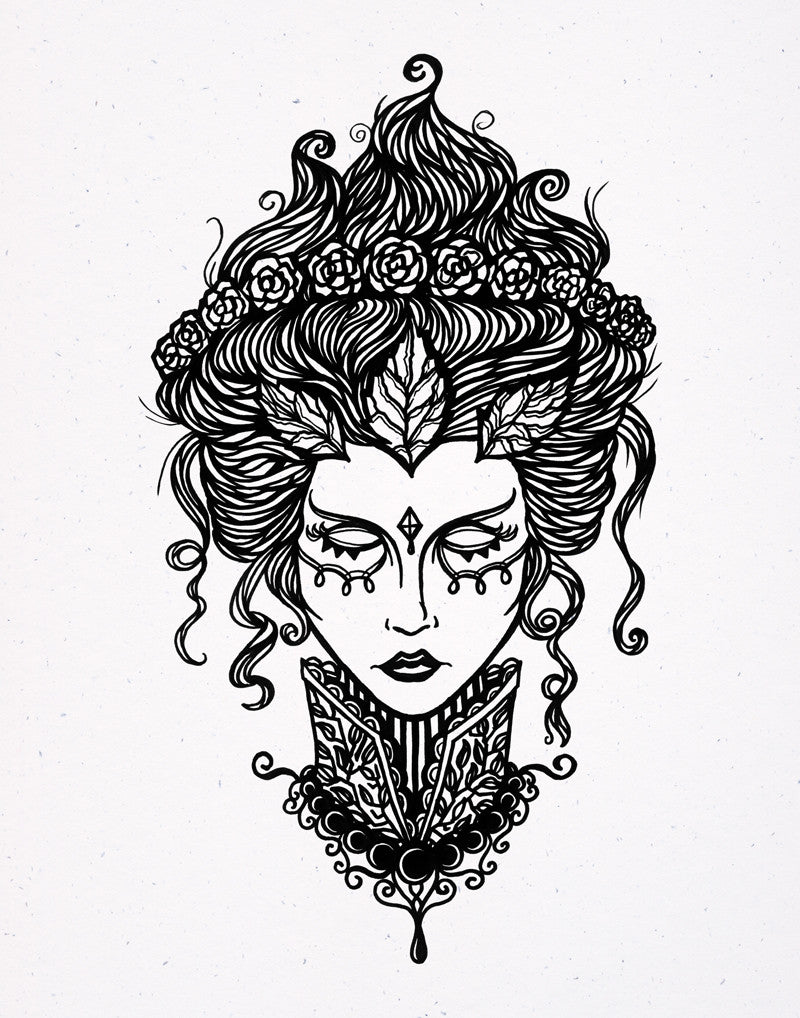 Victorian Muse- Print