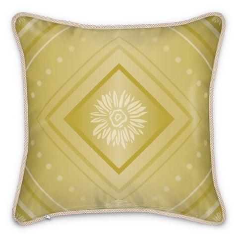 Luxury Silk Cushion Gold