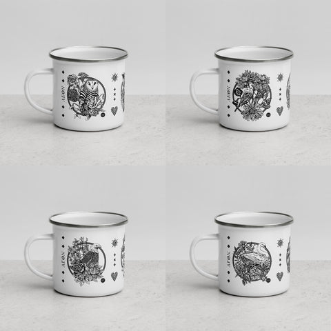 AEON - October, November, December Enamel Mug