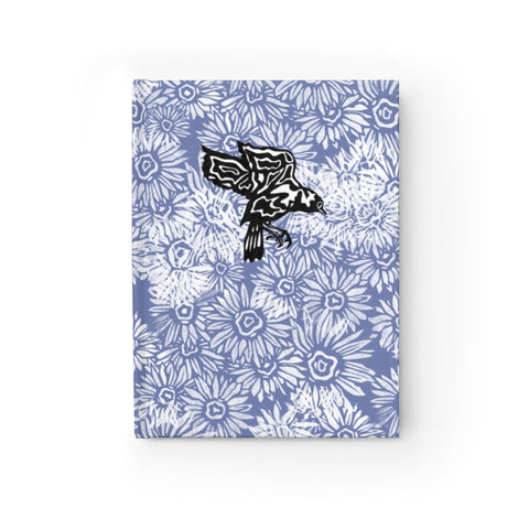 Aster Pattern with Warbler Sketchbook Journal