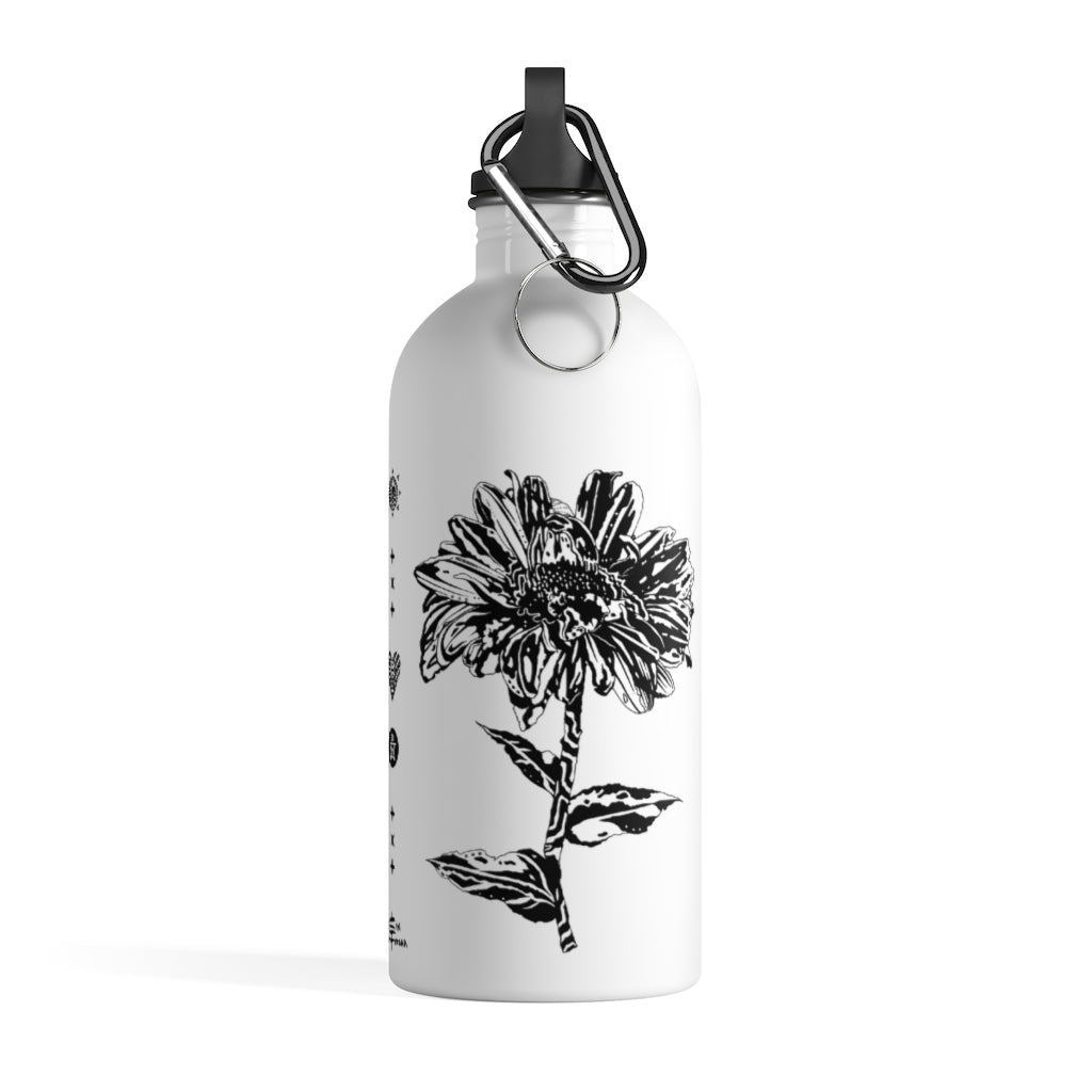 Aster + Rose Stainless Steel Water Bottle