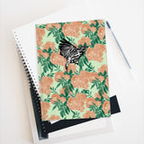 Marigold with Magnolia Warbler Sketchbook Journal - Blank
