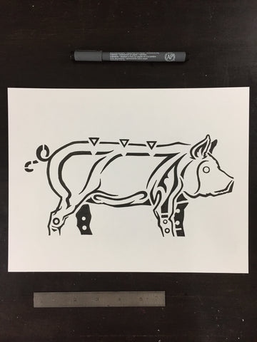 Original drawing #035 - Buffalo