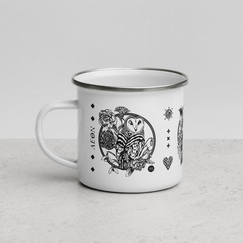 AEON - January, February & March Enamel Mug