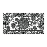 Flourish Towel - Black