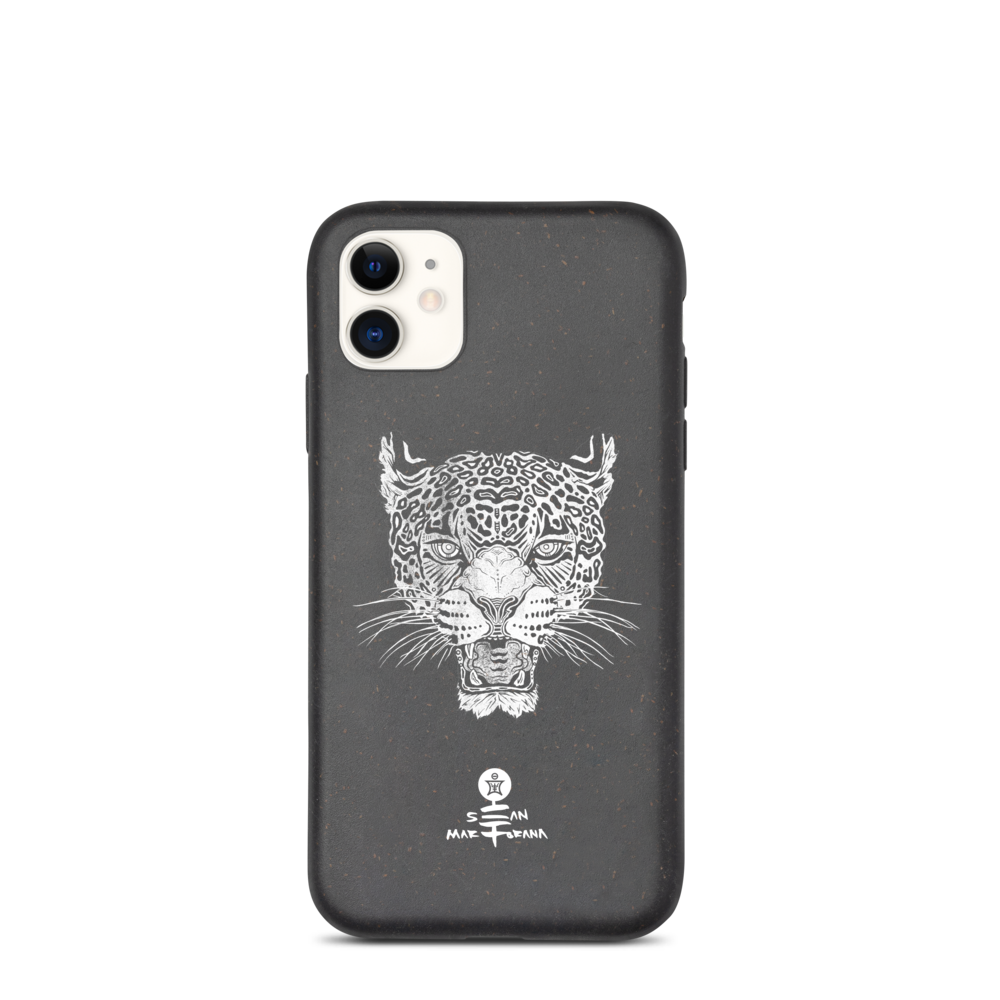 Jaguar Biodegradable iPhone Cases