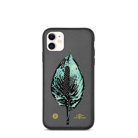 Peace Lily Biodegradable iPhone Cases