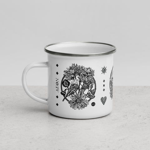 AEON - April, May, June Enamel Mug