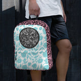 Flourish Collage Backpack