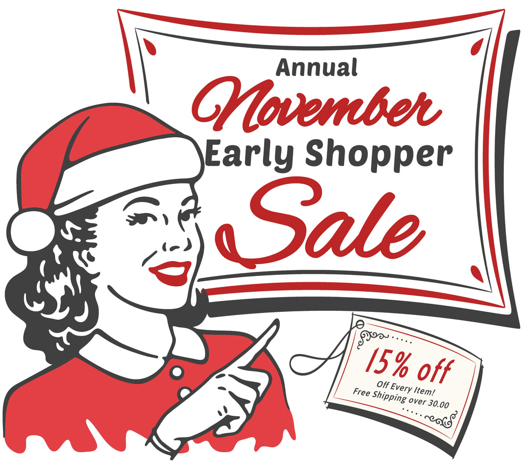 Our Big November Sale!