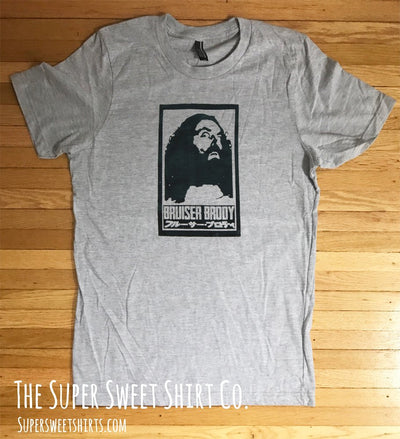 Bruiser Brody Tribute Shirt Old School Classic Wrestling Shirt