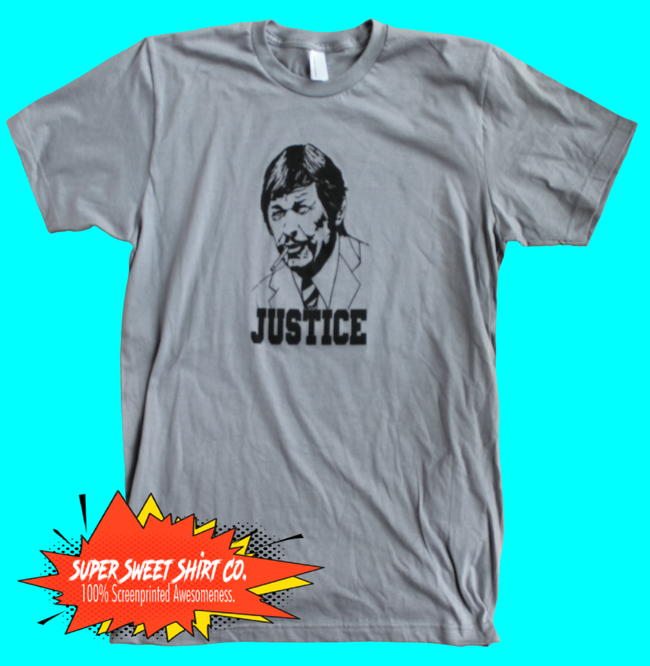 Charles Bronson Death Wish Justice Shirt