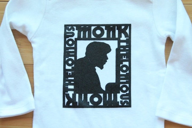 Thelonious Monk Jazz Legend Baby Bodysuit