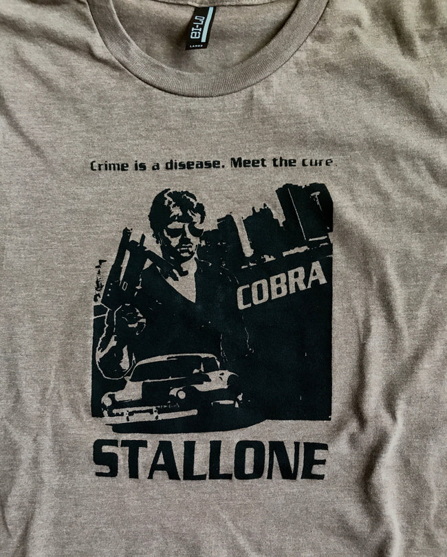 Cobra Movie Shirt Stallone T-Shirt