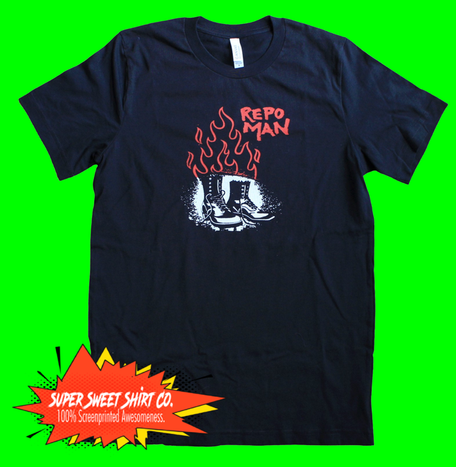 Repo Man Movie Shirt