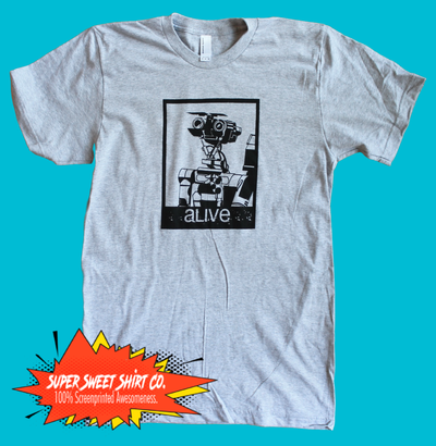 Short Circuit Johnny 5 Alive Shirt
