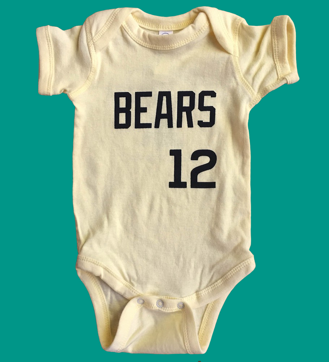 Bad News Bears Jersey Baby Bodysuit