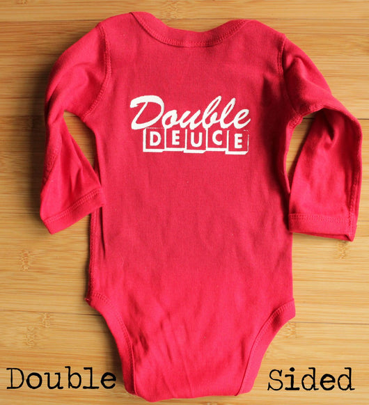 Road House Double Deuce Staff Baby Bodysuit