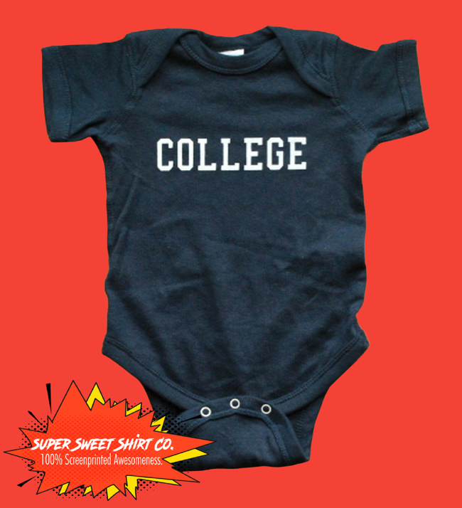 College Animal House Baby Bodysuit