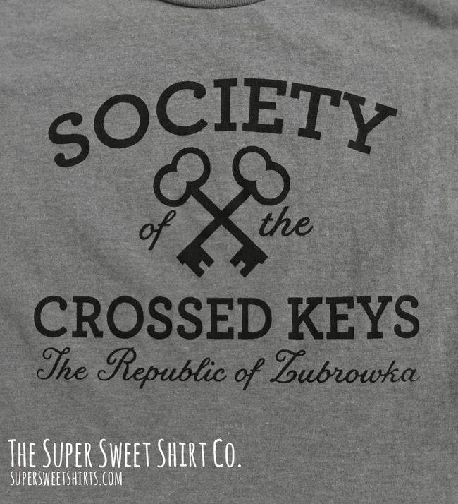 Grand Budapest Hotel Society of The Crossed Keys Women's Shirt