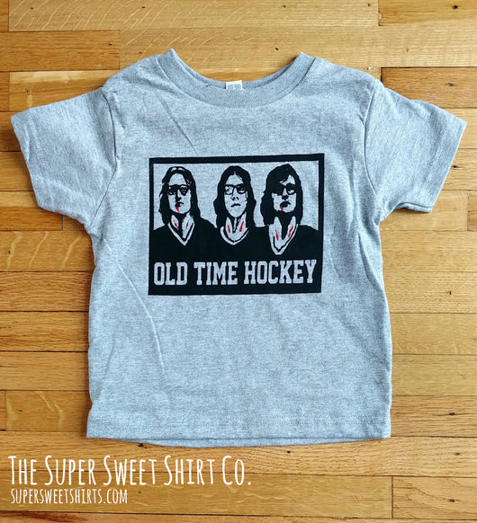Old Time Hockey Toddler Shirt