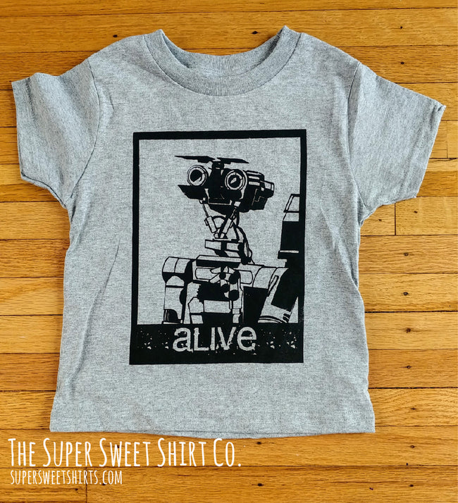 Johnny 5 Alive Toddler Shirt