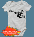 Louis Armstrong Baby Bodysuit