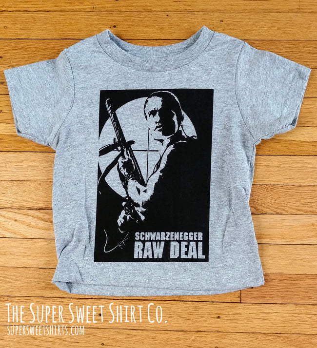 Raw Deal Arnold Toddler Shirt