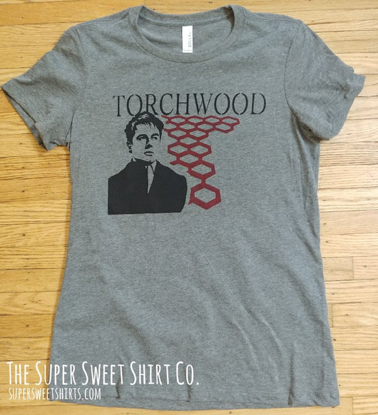 Torchwood Captain Jack Women's Shirt
