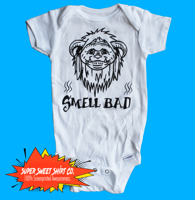Ludo Smell Bad Labyrinth Baby Bodysuit
