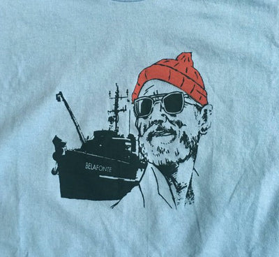 Life Aquatic Steve Zissou Bill Murray Shirt
