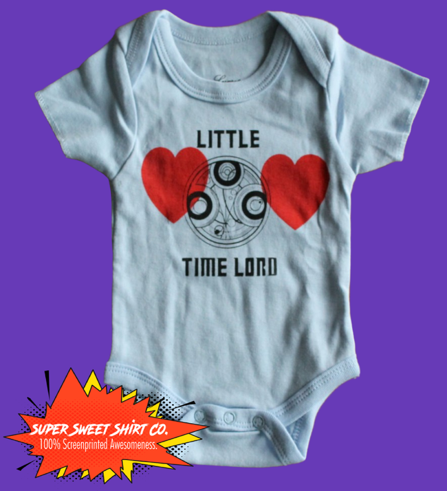 Doctor Who Time Lord Baby Bodysuit