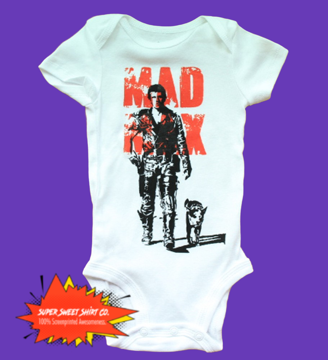 Mad Max Mel Gibson Baby Bodysuit