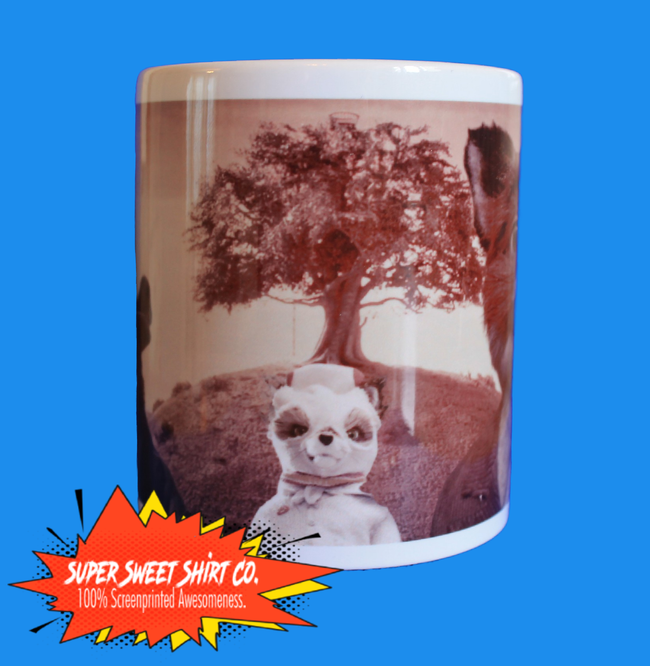 Fabulous Mr. Fox Mug Wes Anderson