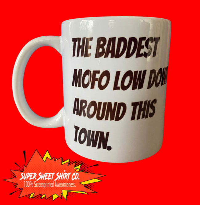 Shogun of Harlem Sho Nuff Last Dragon Mug