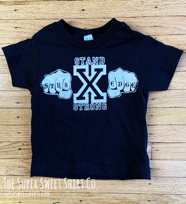 Straight Edge Hardcore Toddler Shirt