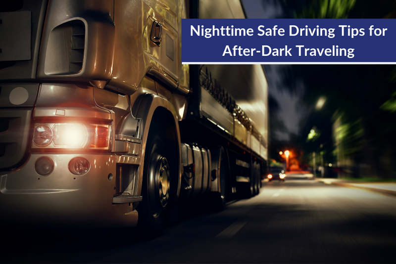 Nighttime Safe Driving Tips for After-Dark Traveling