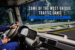 Some of the Most Unique Traffic Laws in the United States
