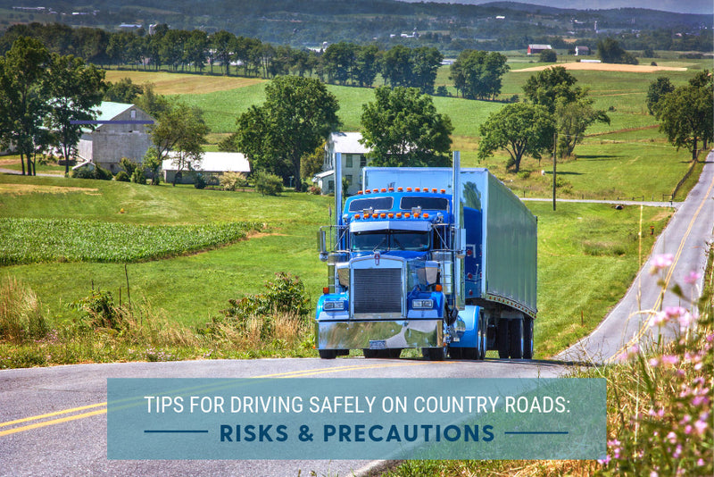 Tips for Driving Safely on Country Roads Risks & Precautions